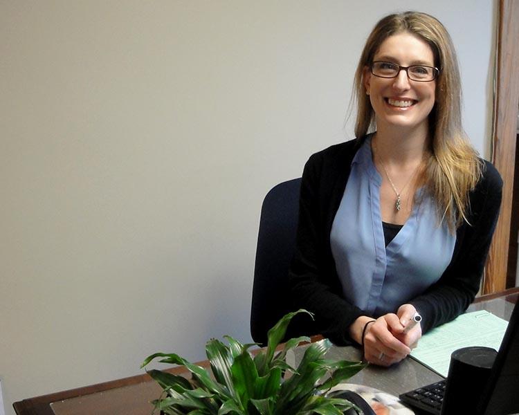 A picture of our recruiter, Lara Ericson