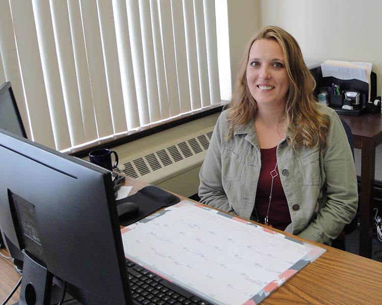 A picture of our recruiter, Michelle Parrish