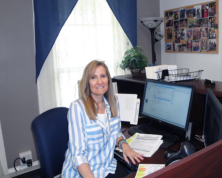 A picture of our recruiter, Diane Palmatier