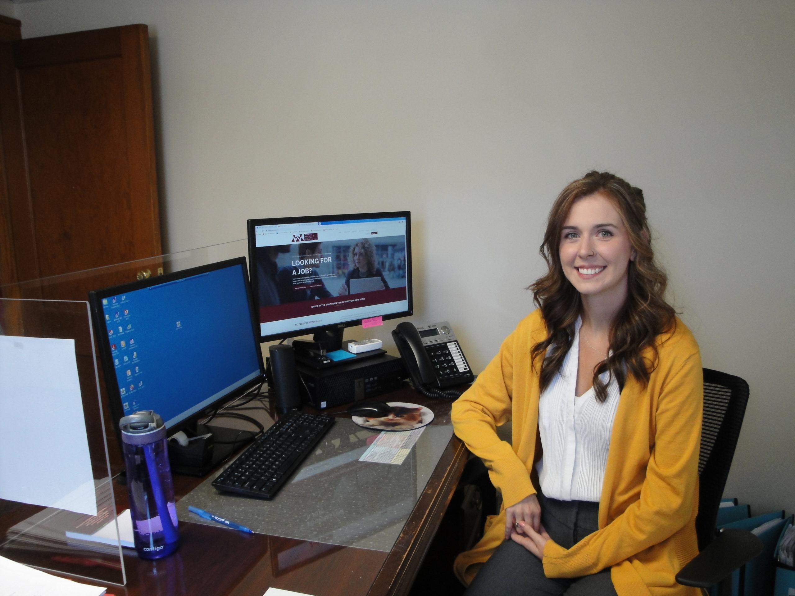 A picture of our recruiter, Britt Reid